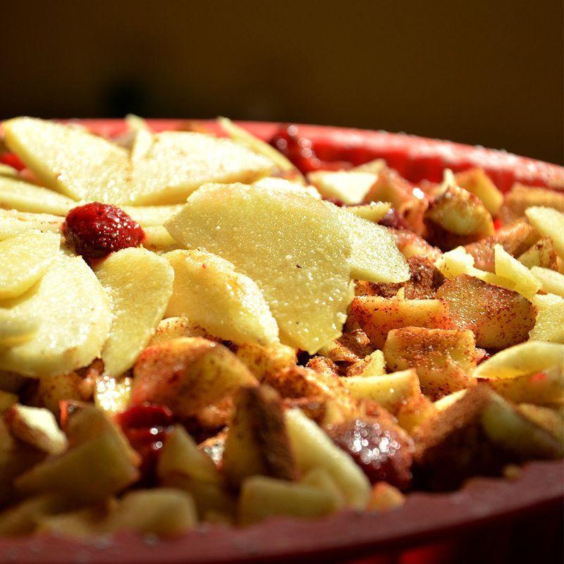 Apfel-Spekulatius-Kuchen