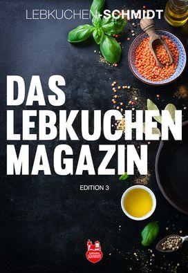 Das Lebkuchen Kochmagazin – 2018