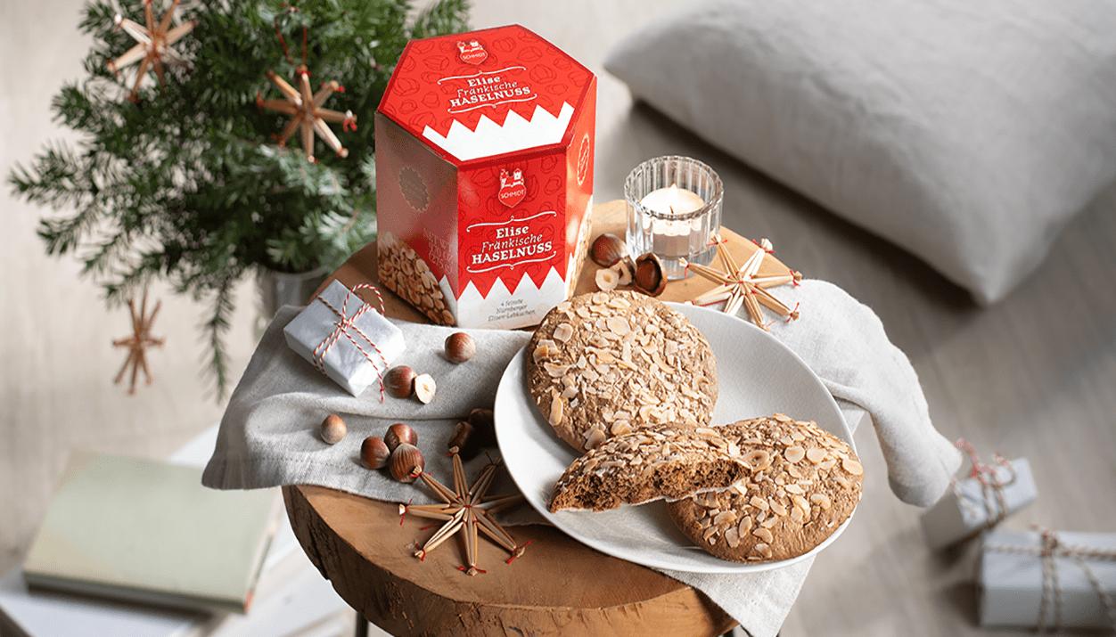 Elise Franconian Hazelnut Elise gingerbread with Franconian hazelnuts