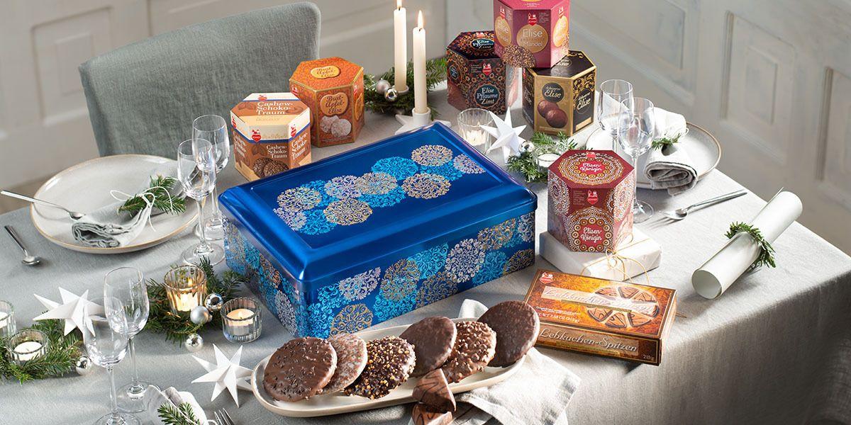 Exclusive gourmet chest 7 fine biscuit specialities