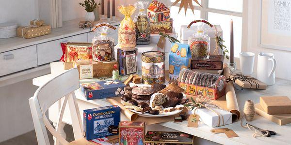 Große Auswahl an Lebkuchen und süßen Spezialitäten