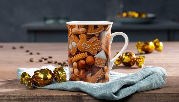 Kaffeebecher Weihnachtsgebäck