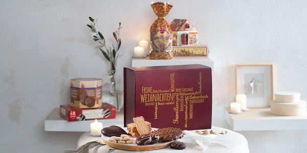 Weihnachtsspezialitäten, elegant verpackt