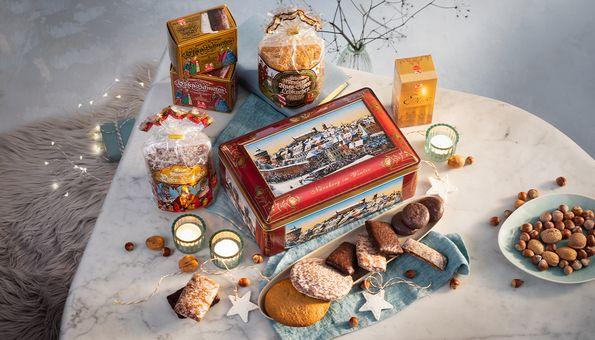 Nürnberger Winter-Truhe mit Lebkuchen 2020
