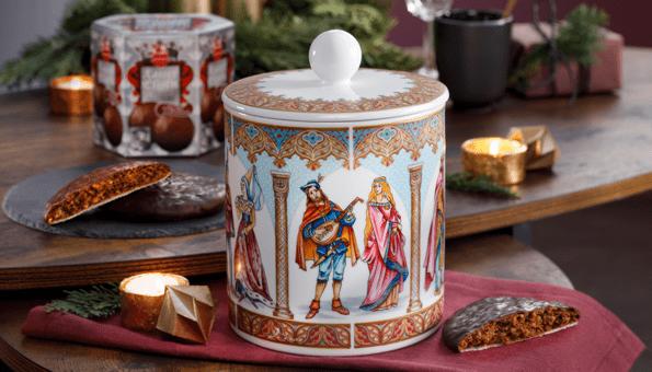 Aus Porzellan, gefüllt mit Kaiser-Elisen