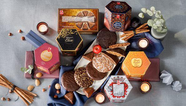 Lebkuchen des Jahres Kollektion