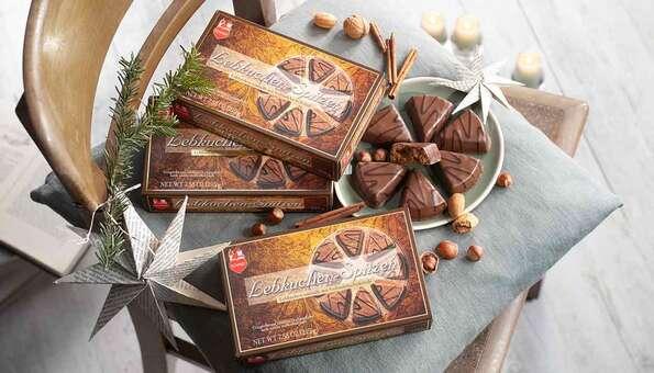 3 Packungen Lebkuchen umhüllt mit Vollmilchschokolade