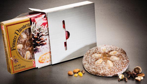 Feinster Nürnberger Elisen-Lebkuchen mit Schuber