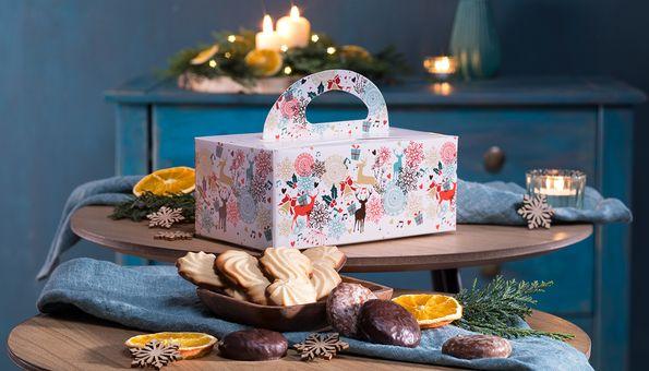 Geschenkbox mit Lebkuchen