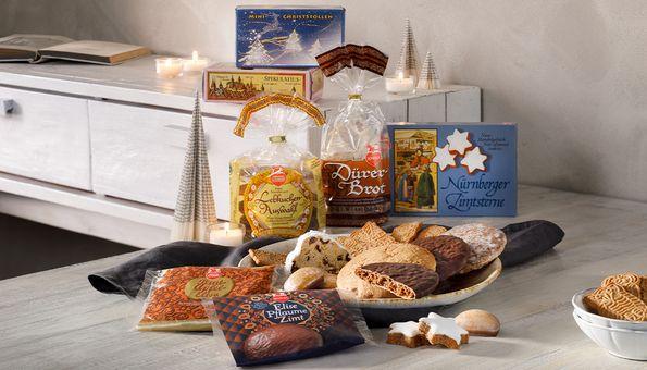 Solisten-Päckchen mit Lebkuchen