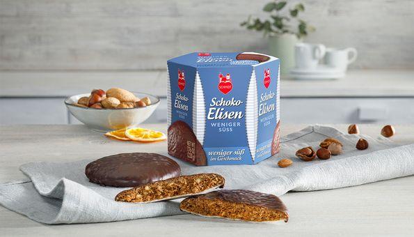 Köstliche Elisen-Lebkuchen, weniger Zucker