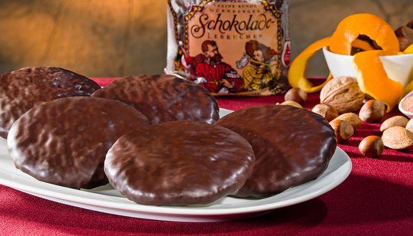Feine Schoko-Lebkuchen