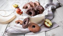 Chocolate Apple Rings