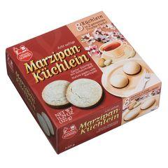 Mini-Cakes with marzipan