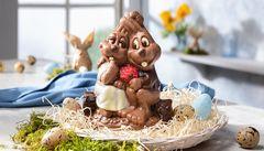 Couple of chocolate bunnies