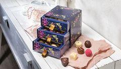 Chocolate drawer box