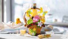 Eggnogg Gift Basket made of Felt