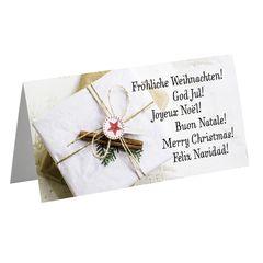 Weihnachtskarte International