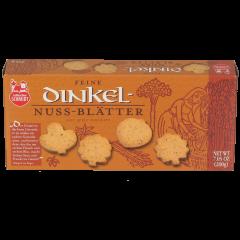 Dinkel-Nuss-Blätter