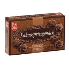 Kakaospritzgebäck