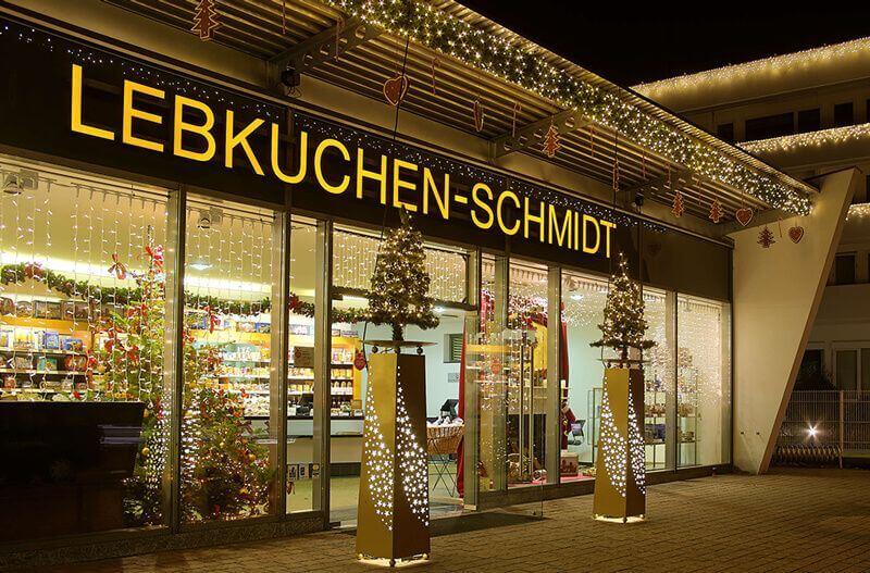 Hauptfiliale von Lebkuchen-Schmidt in Nürnberg
